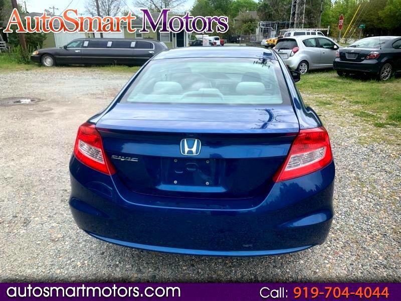 Honda Civic Coupe 2dr CVT EX 2013