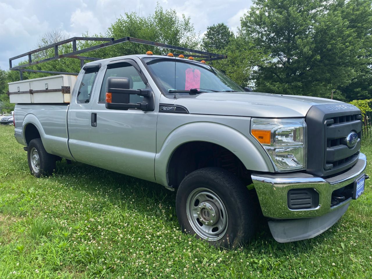 Ford F-350 SD Lariat SuperCab Long Bed 4WD 2013