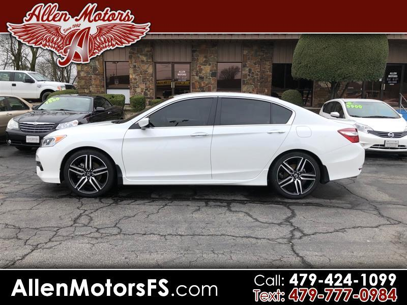 Honda Accord Sedan Sport CVT 2017