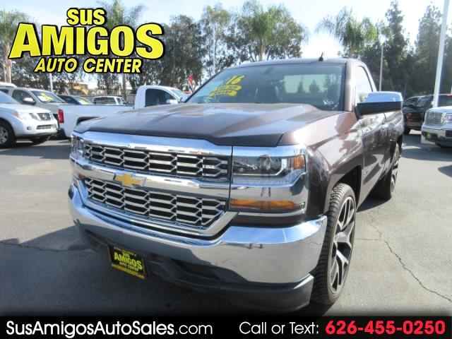 2016 Chevrolet Silverado 1500 Regular Cab 2 Door 2WD