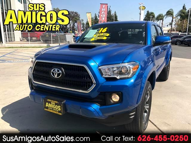 2016 Toyota Tacoma TRD Off Road Double Cab 5' Bed V6 4x4 MT (Natl)