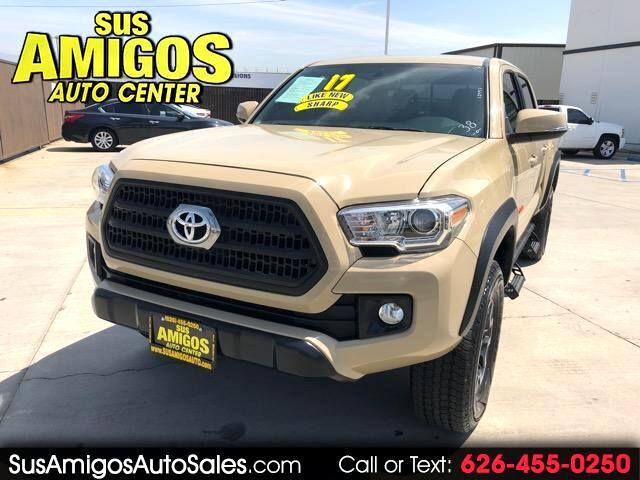 2017 Toyota Tacoma 2WD Double Cab V6 AT TRD Off Road (Natl)