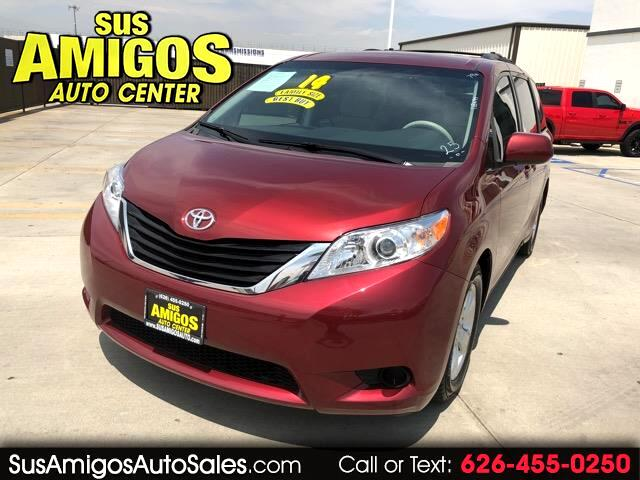 2014 Toyota Sienna 5dr 8-Pass Van LE FWD (Natl)