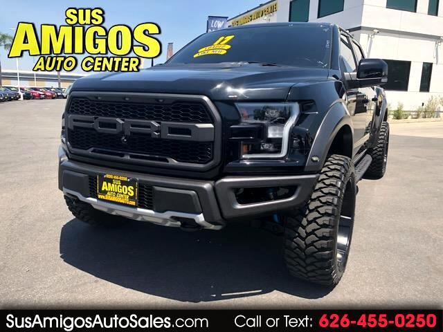 "2017 Ford F-150 4WD SuperCrew 145"" SVT Raptor"