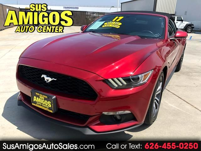 2017 Ford Mustang 2dr Conv Premium