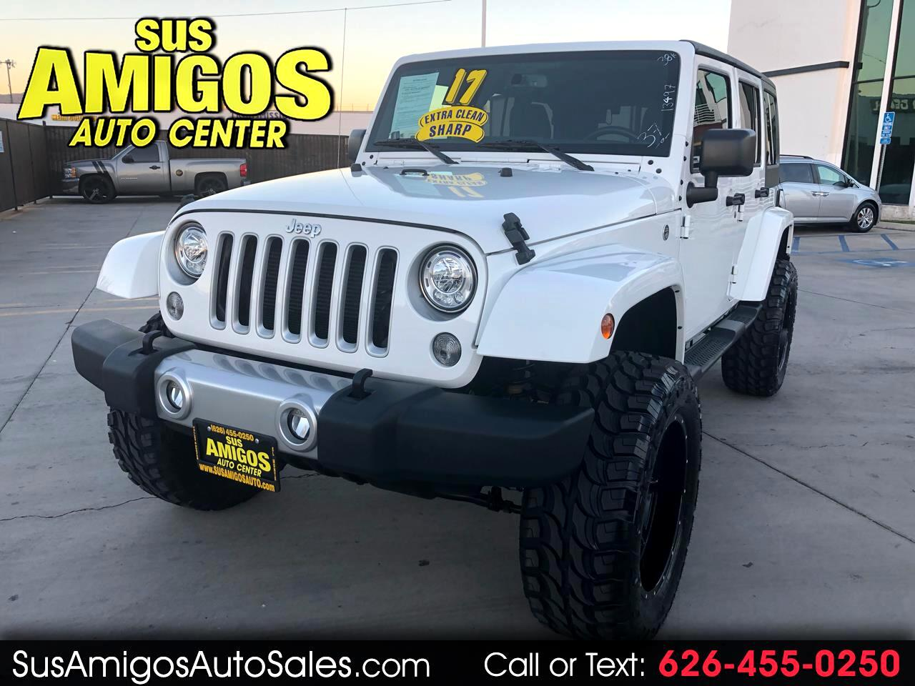 2017 Jeep Wrangler Unlimited 4WD 4dr Sahara