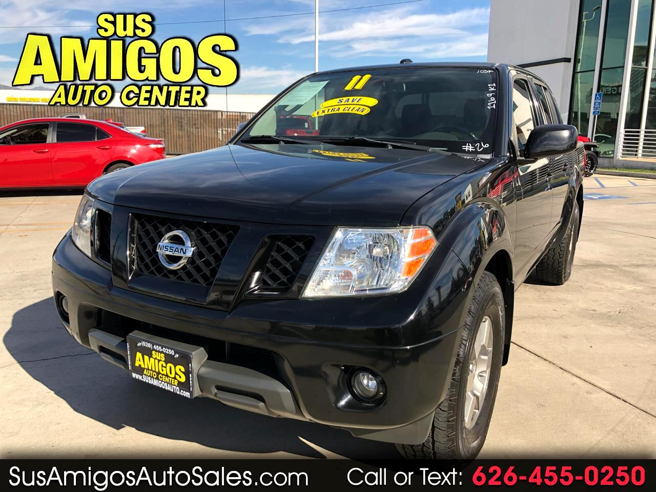 2011 Nissan Frontier PRO-4X Crew Cab 2WD