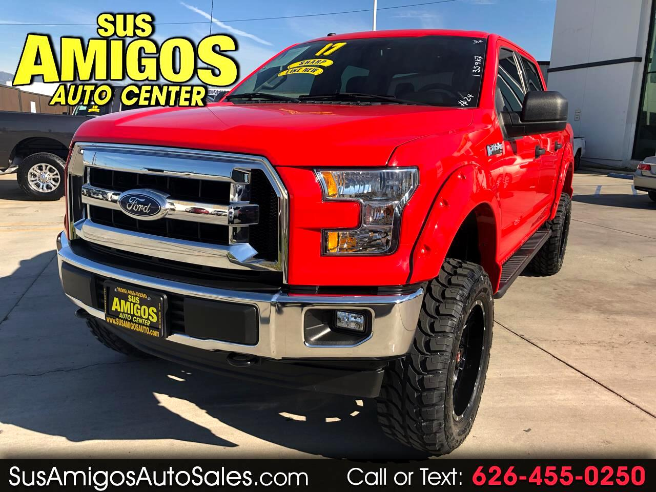 2017 Ford F-150 SuperCrew 4WD