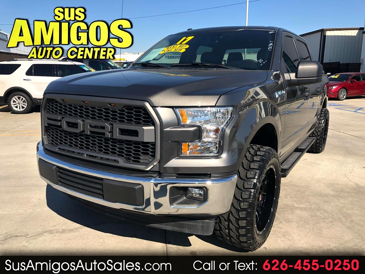 "2017 Ford F-150 2WD SuperCrew 157"" XLT"