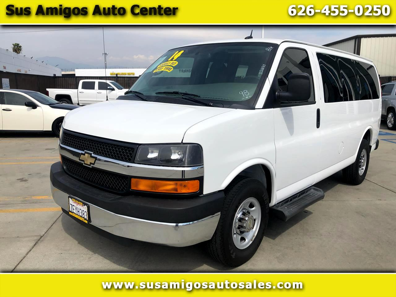 "Chevrolet Express Passenger RWD 2500 135"" LT 2014"