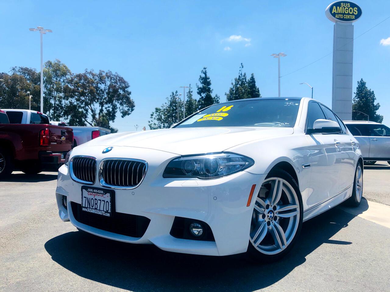 BMW 5 Series 4dr Sdn 535i RWD 2016