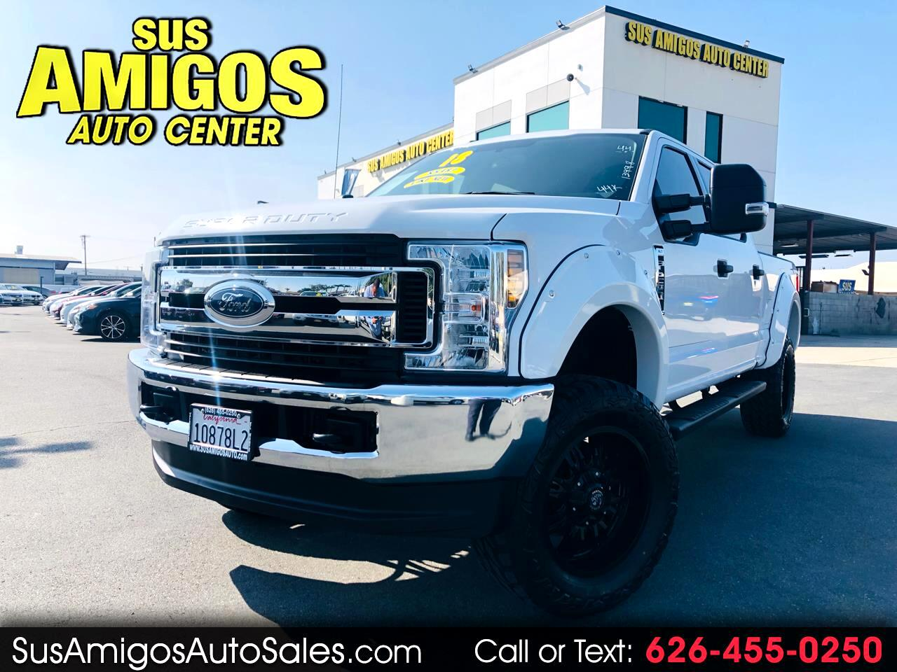 2018 Ford Super Duty F-250 SRW XLT 4WD Crew Cab 8' Box