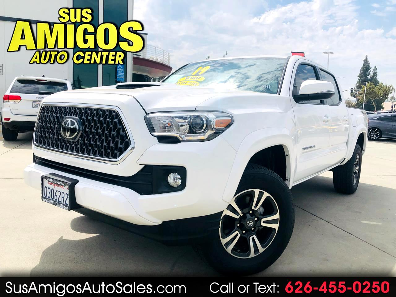 2019 Toyota Tacoma 2WD TRD Off Road Double Cab 5' Bed V6 AT (Natl)