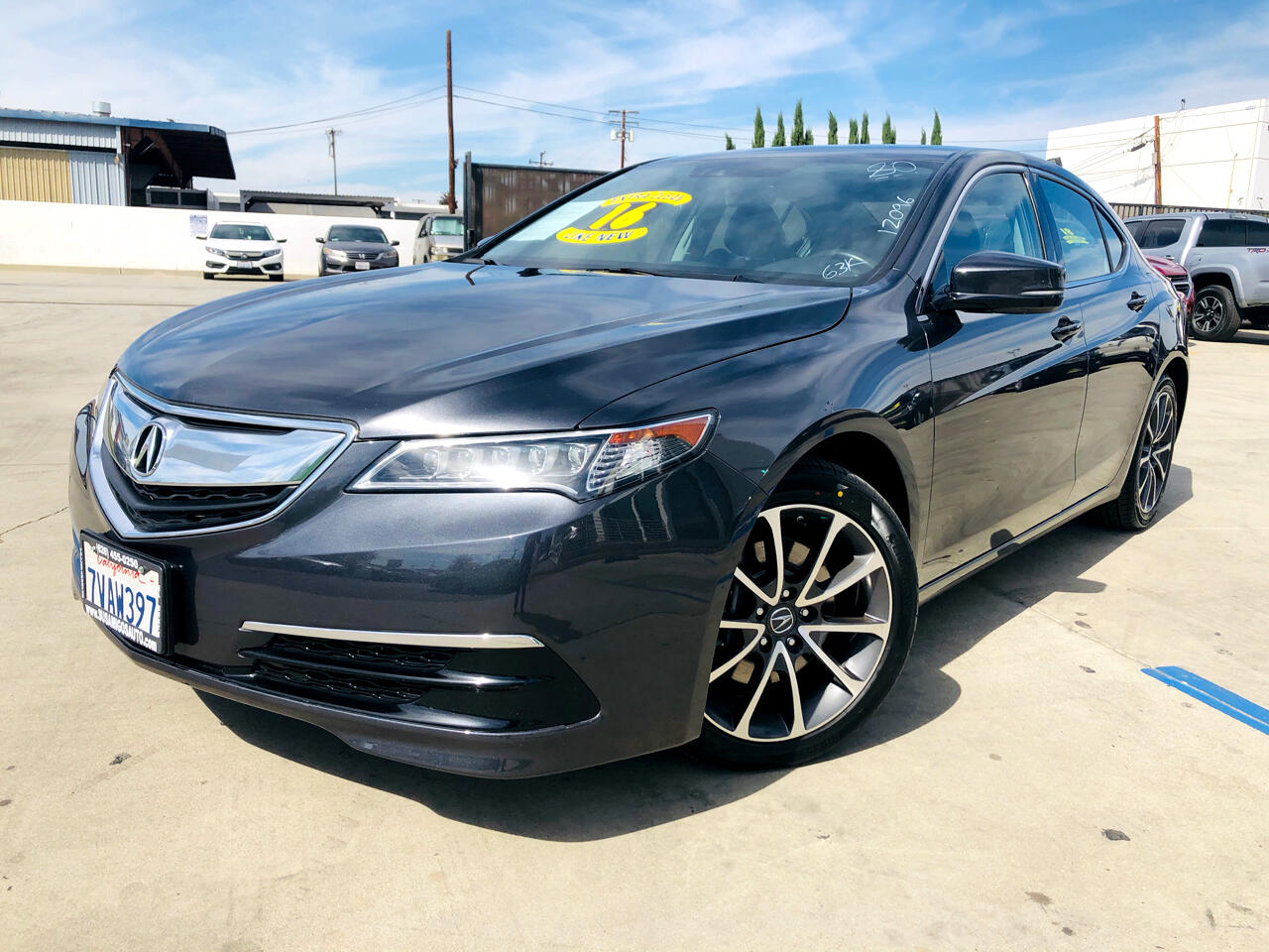Acura TLX 4dr Sdn FWD V6 Tech 2016