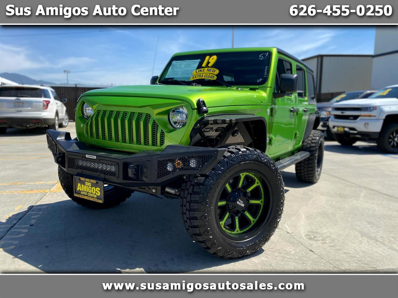 Jeep Wrangler Unlimited Sport S 4x4 2019