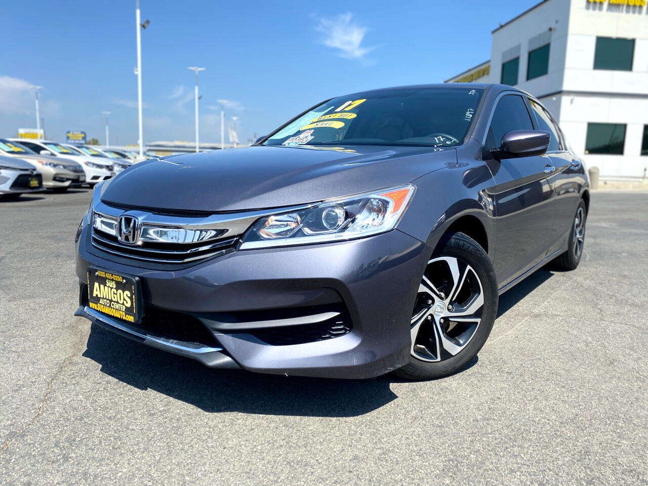 Honda Accord Sedan LX CVT 2017