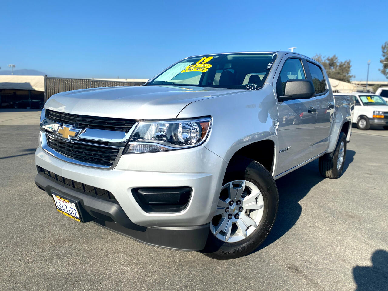"Chevrolet Colorado 2WD Crew Cab 140.5"" WT 2019"