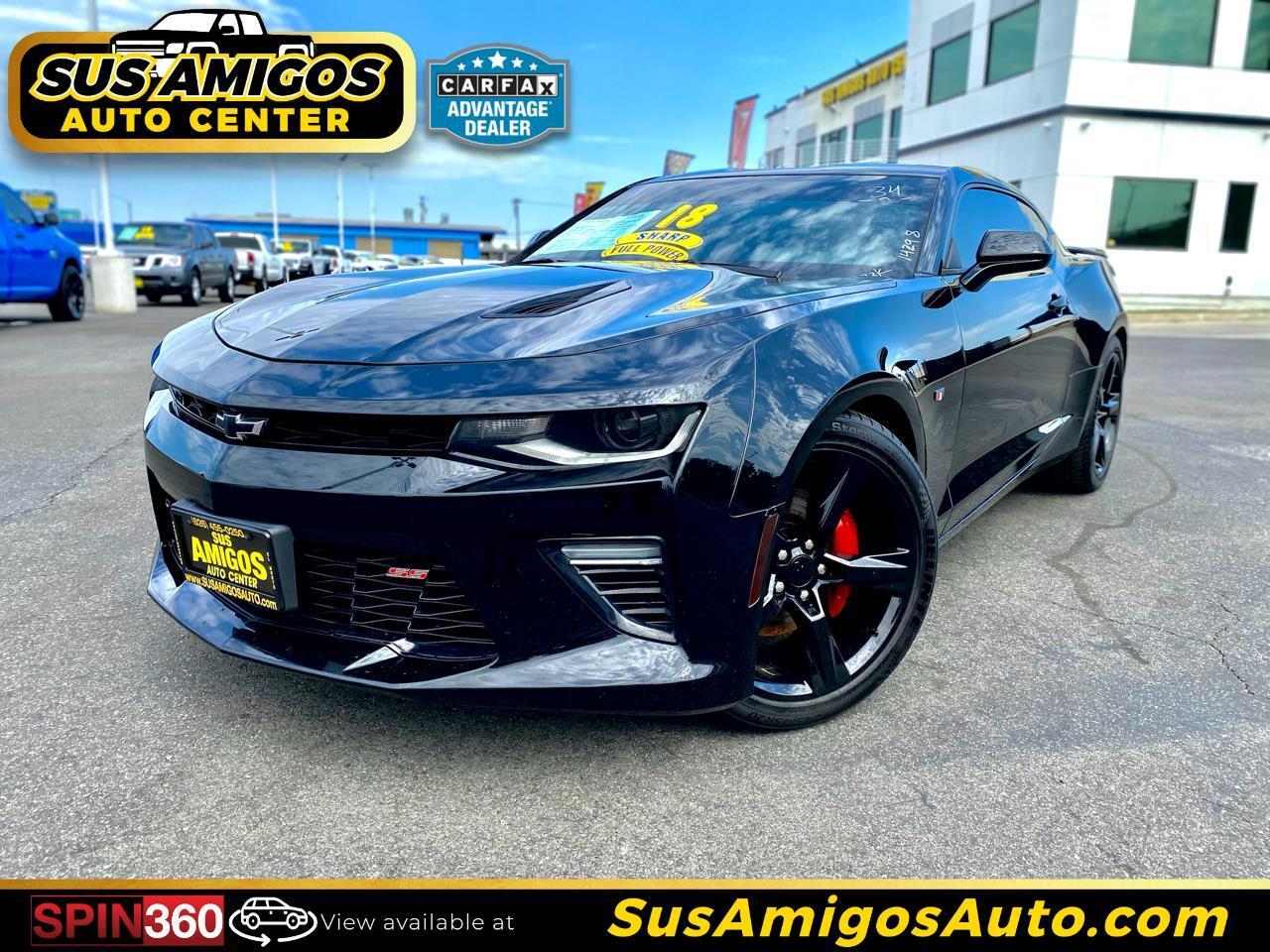 Chevrolet Camaro 2dr Cpe 1SS 2018