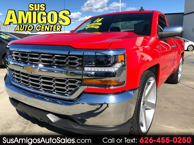 2016 Chevrolet Silverado 1500 Regular Cab Short Bed 2WD