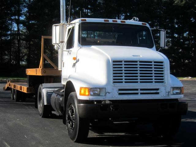 1990 International 8100 DAYCAB TRACTOR