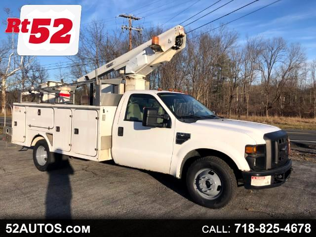 2008 Ford F-350 SD XL DRW 2WD BUCKET TRUCK TESTLA CHERRY PICKER BOOM