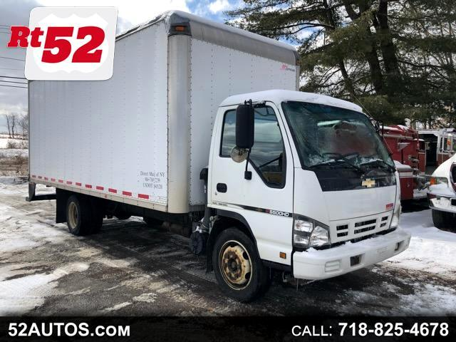 2007 Chevrolet W55042 W5500 BOX TRUCK TURBO DIESEL 20 FT FOOT BOX ISUZU