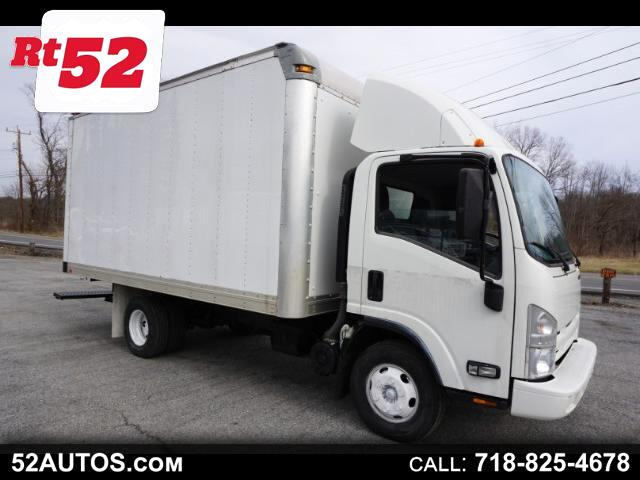 2012 Isuzu NPR 14 FOOT BOX TRUCK GAS ENGINE NICE CLEAN TRUCK !
