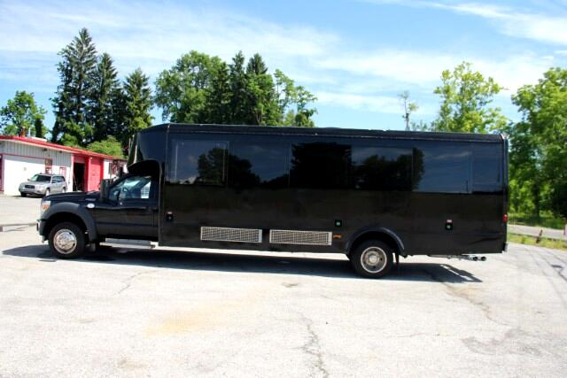 2013 Ford F-550 GLAVAL PARTY BUS LIMOUSINE LIMO COACH DIESEL !!