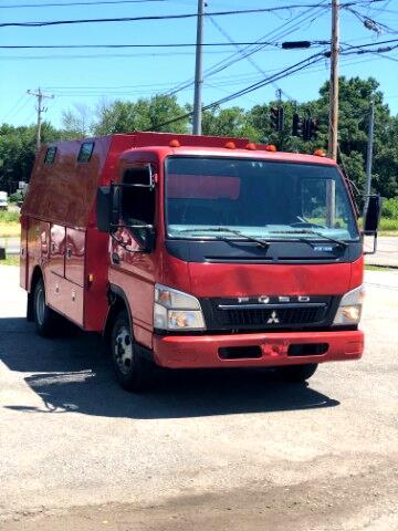 2010 Mitsubishi Fuso FE83D FUSO FE125 ENCLOSED UTILITY BODY SERVICE TRUCK PLU
