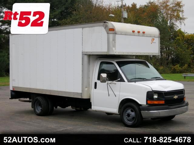 2004 Chevrolet Express G3500 18ft box truck 14 ft box 4 ft attic