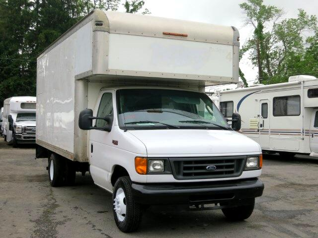 2005 Ford E-Series Van E-350 14 foot PLUS 4 FOOT ATTIC 18 FOOT BOX TRUCK