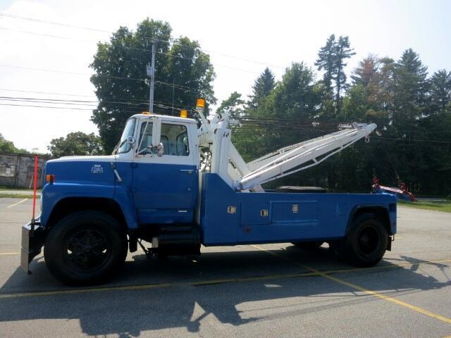 1983 Ford LN8000 HEAVY DUTY WRECKER CHALLENGER 7550 TOW TRUCK