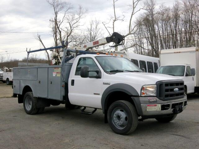 2005 Ford F-550 IMT CRANE TRUCK UTILITY BODY MECHANIC TRUCK