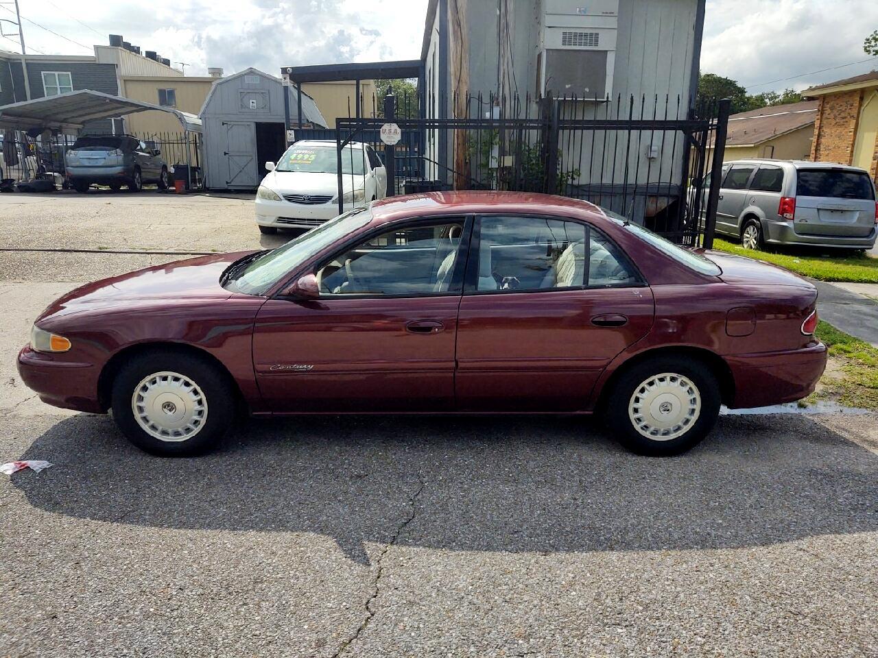 Buick Century 4dr Sdn Custom 2001