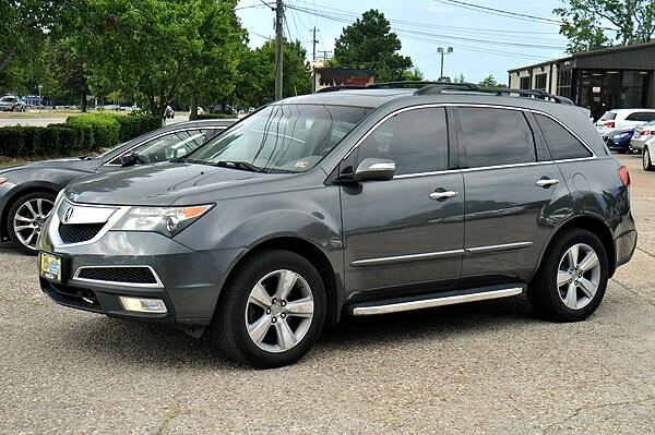 Acura MDX 6-Spd AT 2010
