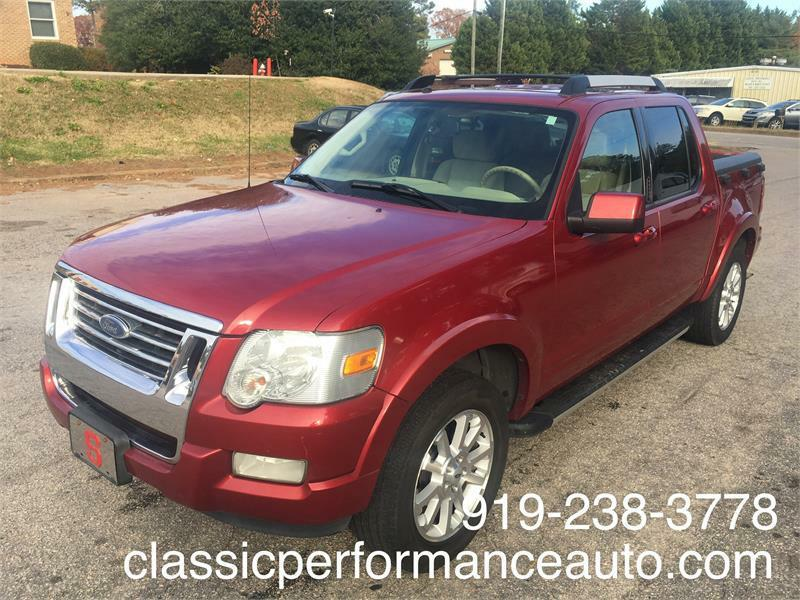 Ford Explorer Sport Trac Limited 4.0L 2WD 2007
