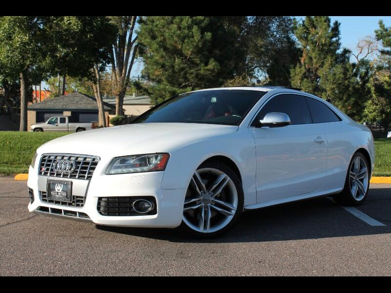 Audi S5 4.2 Coupe quattro Manual 2011