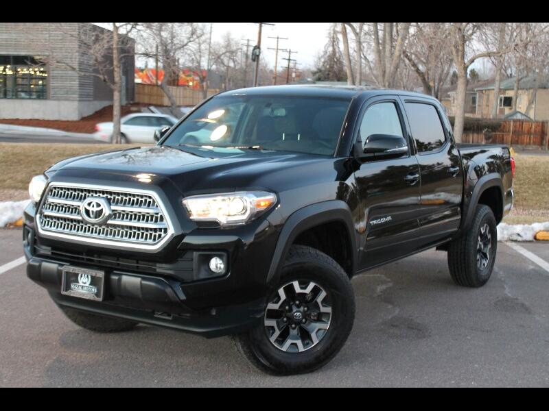 Toyota Tacoma 4WD Double Cab V6 AT TRD Off Road (Natl) 2017