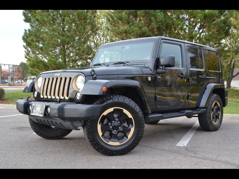 Jeep Wrangler 4WD 4dr Dragon Edition *Ltd Avail* 2014