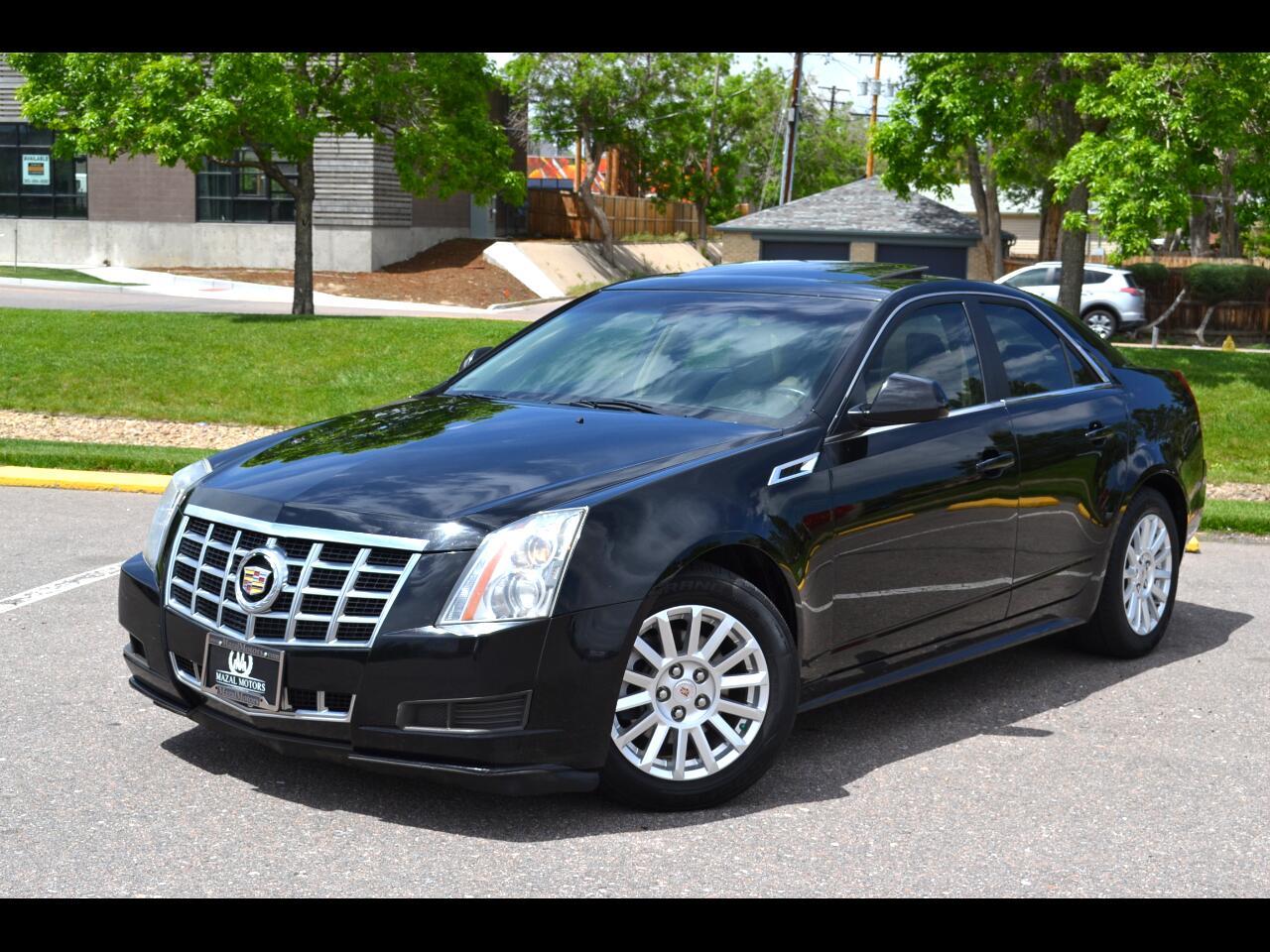Cadillac CTS Sedan 4dr Sdn 3.0L Luxury AWD 2013