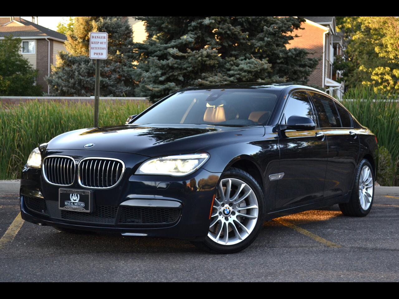 BMW 7 Series 4dr Sdn 750i xDrive AWD 2015