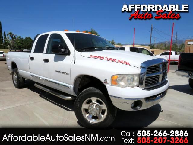 Dodge Ram 3500 Laramie Quad Cab Long Bed 4WD 2005