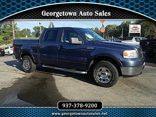 "2005 Ford F-150 4WD SuperCrew 157"" XLT"