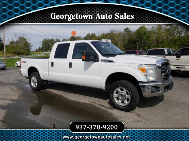2014 Ford F-250 SD XLT Crew Cab Short Bed 4WD