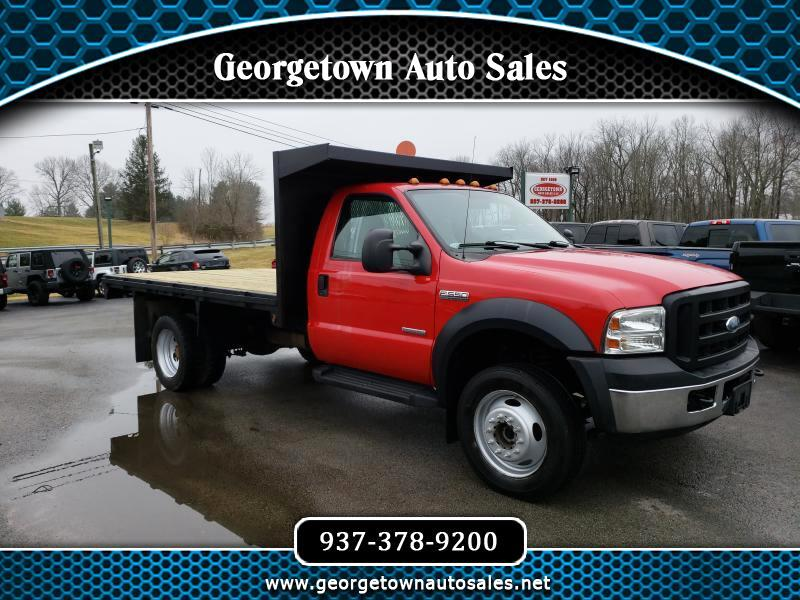 2007 Ford F-550 Regular Cab DRW 4WD