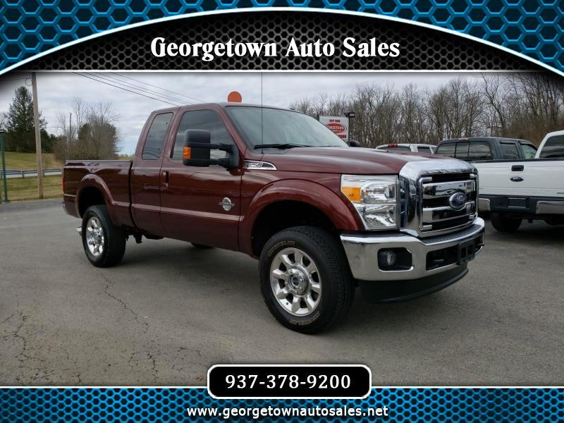 2016 Ford F-250 SD Lariat SuperCab Short Bed 4WD