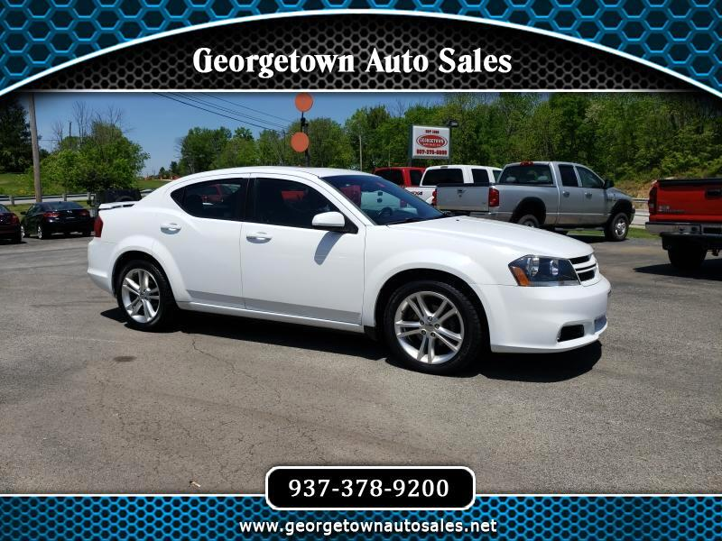 Dodge Avenger 4dr Sdn SXT Plus 2014