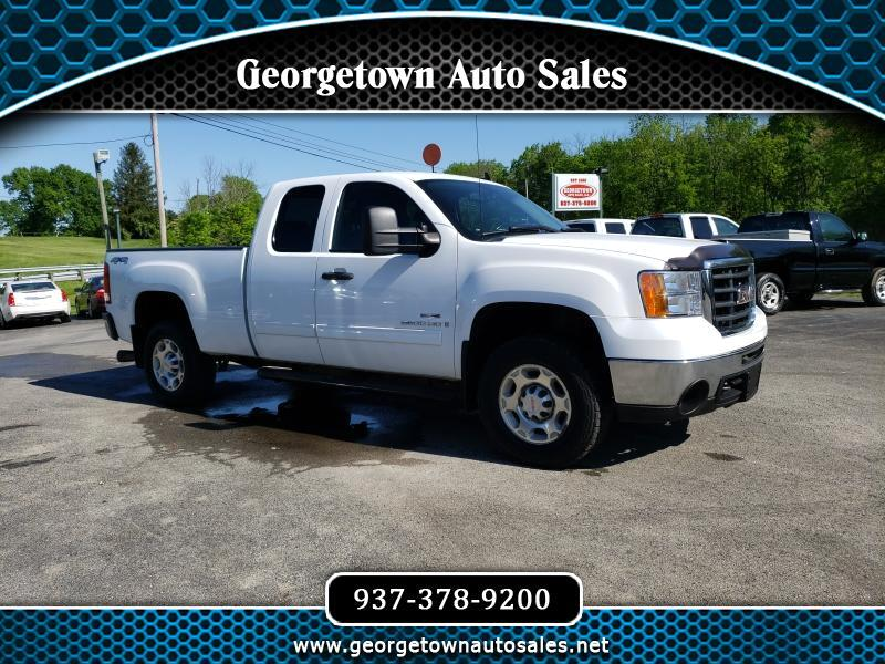 2009 GMC Sierra 2500HD SLE Ext. Cab Short Bed 4WD