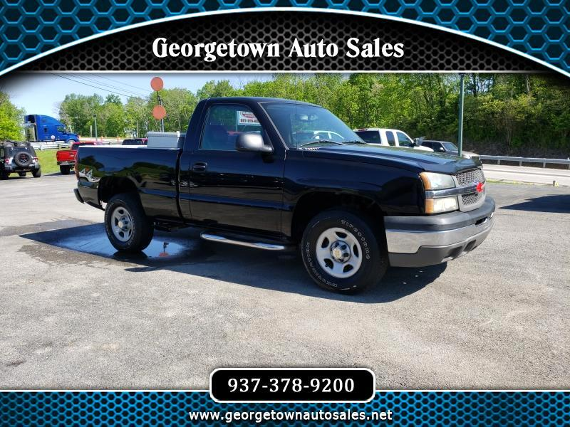 2004 Chevrolet Silverado 1500 Work Truck Short Bed 4WD