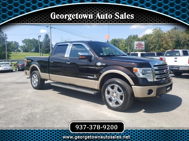 "2013 Ford F-150 SuperCrew 139"" King Ranch 4WD"